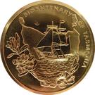 5 dollars Tasmanie (cuivre-aluminium-nickel) – revers