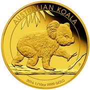 15 dollars - Elizabeth II (Koala) -  revers