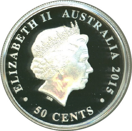 50 Cents Elizabeth Ii Kookaburra Silver Bullion Coinage