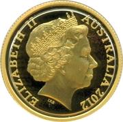 10 Dollars - Elizabeth II (4è portrait; blé Dollar Gerbe) – avers