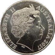 20 Cents - Elizabeth II (Military Cross) -  avers