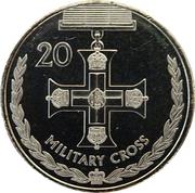 20 Cents - Elizabeth II (Military Cross) -  revers