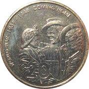 20 Cents - Elizabeth II (Fin de la IIème Guerre mondiale) -  revers