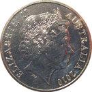 20 Cents - Elizabeth II (Burke and Wills) – avers