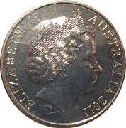 20 Cents - Elizabeth II (Royal Wedding) -  avers