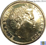 2 Dollars - Elizabeth II (Remembrance Day - Poppy Flower) -  avers