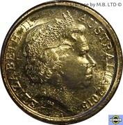 2 Dollars - Elizabeth II (Anzac Day - War Graves) – avers