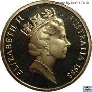 2 dollars Elizabeth II (3e effigie) -  avers