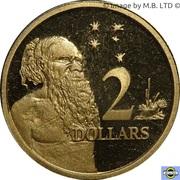 2 dollars Elizabeth II (4e effigie) -  revers
