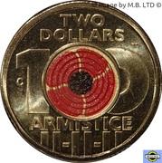 2 Dollars - Elizabeth II (Remembrance-Armistice) -  revers