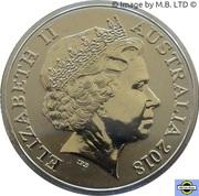 1 Dollar - Elizabeth II (The Magic Pudding) -  avers