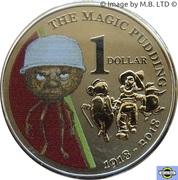 1 Dollar - Elizabeth II (The Magic Pudding) -  revers