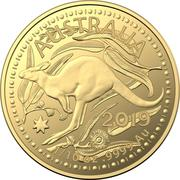 15 Dollars - Elizabeth II (4th Portrait - Gold Bullion Coin) -  revers