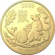 100 Dollars - Elizabeth II (6th Portrait - Year of the Rat) -  revers