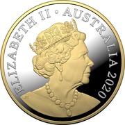 1 Dollar - Elizabeth II (6th portrait - Mob of Roos) -  avers