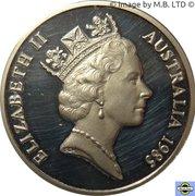 20 cents Elizabeth II (3e effigie) -  avers