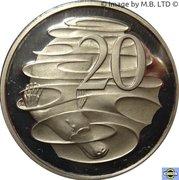 20 cents Elizabeth II (3e effigie) -  revers