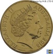 1 Dollar - Elizabeth II (XXI Commonwealth Games) -  avers