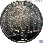 20 Cents - Elizabeth II (Astronomy) – revers