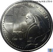 20 Cents - Elizabeth II (Nurses) -  revers