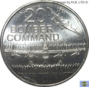 20 Cents - Elizabeth II (Bomber Command) – revers