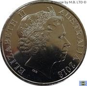 20 Cents - Elizabeth II (Anzac Spirit - Honest) – avers