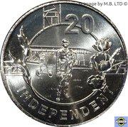 20 Cents - Elizabeth II (Anzac Spirit - Independant) – revers