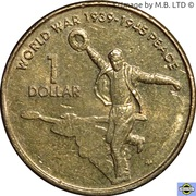 1 dollar - Elizabeth II (2ème Guerre mondiale) -  revers