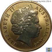 1 Dollar - Elizabeth II (4th portrait; Bottlenose Dolphin) – avers