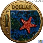 1 dollar L'étoile de mer – revers