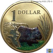 1 dollar Vombatidae -  revers