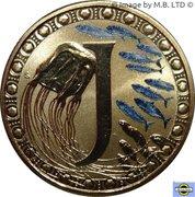 1 Dollar - Elizabeth II (4th portrait; Alphabet Collection - Letter J) – revers