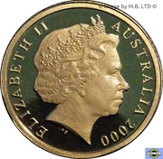 2 dollars - Elizabeth II (4e effigie) -  avers