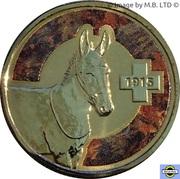 1 Dollar - Elizabeth II (4th portrait; Unlikely Heroes - Murphy the Donkey) -  avers
