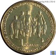 1 dollar - Elizabeth II (Pension de vieillesse) -  revers