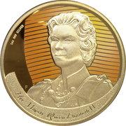 1 Dollar - Elizabeth II (4th Portrait - Figures of Note - Queen Elizabeth) -  revers