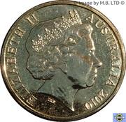 1 Dollar - Elizabeth II (4th portrait; Inspirational Australians - Fred Hollows) -  avers