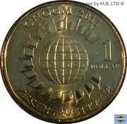 1 dollar C.H.O.G.M. -  revers
