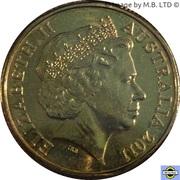 1 Dollar - Elizabeth II (4th portrait; Presidents Cup) -  avers