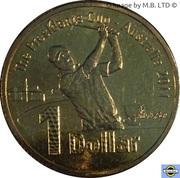 1 Dollar - Elizabeth II (4th portrait; Presidents Cup) -  revers