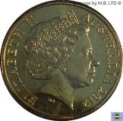 1 Dollar - Elizabeth II (4th portrait; Ethel C. Pedley - Dot and the Kangaroo) -  avers