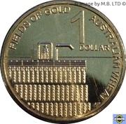 1 Dollar - Elizabeth II (4ème portrait ; Les champs d'or) – revers