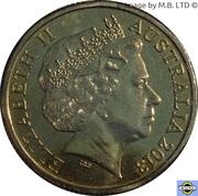1 Dollar - Elizabeth II (4e Portrait, Slim Dusty) -  avers