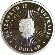 1 Dollar - Elizabeth II (4th Portrait - Year of the Pig) – avers