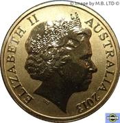 1 Dollar - Elizabeth II (4th portrait; Polar Series - Humpback Whale) -  avers