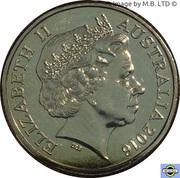 1 Dollar - Elizabeth II (4th Portrait; Australia's First Mints) -  avers