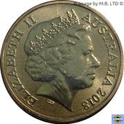 1 Dollar - Elizabeth II (4th portrait; Commonwelth Games-Borobi Mascot) -  avers
