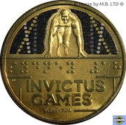 1 Dollar - Elizabeth II (Invictus Games Sydney 2018) -  avers