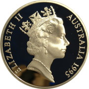 5 Dollars - Elizabeth II (3rd Portrait - Colonel William Light) -  avers