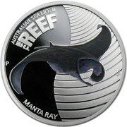 Australian Sea Life II - The Reef - Manta Ray – revers